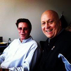#Orioles legends Jim Palmer and Cal Ripken, Jr.