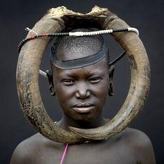 Africa | Mursi tribe imagination without border - Omo Ethiopia