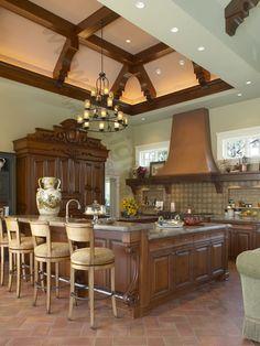 Scholz Design's Siena Manor B 135, Home Plan 56139 Kitchen