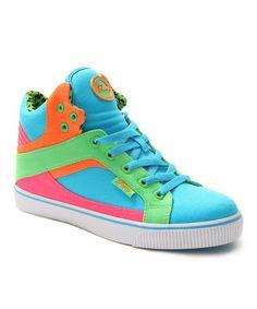 532100d35e Tooti Fruiti Sire Color Block Hi-Top Sneaker