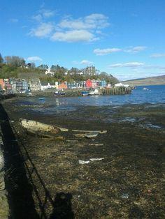scottish seaside town