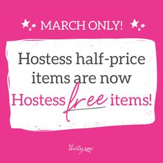 Contact me today, this has never been offered before.  Earn up to three hostess half price items for FREE!  Parties starting at $200!!!!  Don't let this pass, contact me and do a book party, no house needed.  Get the hostess exclusive and hostess half price items for FREE!!!  www.mythirtyone.com/577104 jmegnin12@yahoo.com