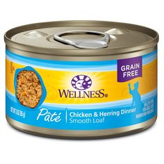 Wellness Natural Grain Free Wet Canned Cat Food ** Read more reviews of the product by visiting the link on the image. (This is an affiliate link) #CatFood