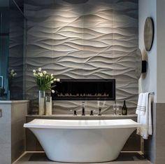 Glamorous and exciting bathroom decor. See more luxurious interior design details at luxxu.net #ContemporaryInteriorDesignlivingroom