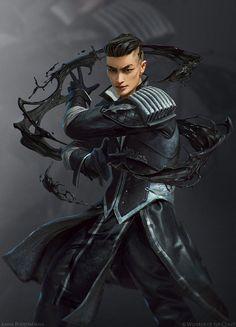 Fantasy Male, Fantasy Warrior, Fantasy Rpg, Dark Fantasy Art, Fantasy Artwork, Fantasy Character Design, Character Design Inspiration, Character Concept, Character Art