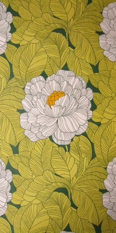Argothia, French wallpaper from the 70s