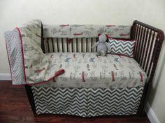 Baby Bedding Crib Set Creighton New! : Just Baby Designs, Custom Baby Bedding Custom Crib Bedding Custom Nursery Bedding