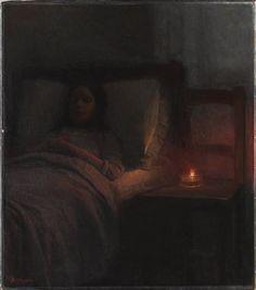Jakub Schikaneder (1855-1924), La Jeune Morte.