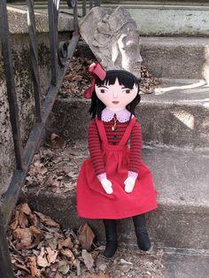 girl in red by Mimi K, via Flickr