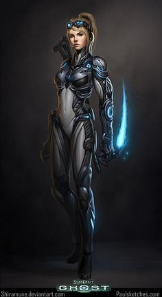 Starcraft - Female Spectre   Game art   Pinterest   Starcraft   236 x 434 jpeg 12kB