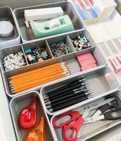 - When it comes to an office, organization is key. Of course, consumers need to buy the best office supplies for their needs, but if items are not logic. organization at work desks Easy And Cheap DIY Home Office Organization Ideas