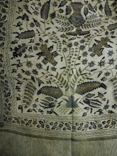 Breast wrap cloth late 18th century