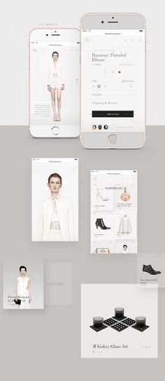 Alexander Wang   Redesign Concept on Web Design Served