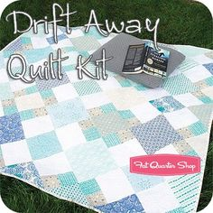 Drift Away Quilt Featured in Quilt-it Today September/October 2014 issue