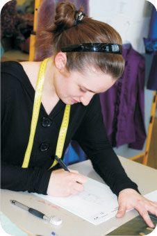 Ausbildungsberufe an der Modeschule N�rnberg