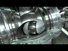 Russian Rotary Vane Engine - YouTube