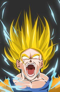 Goku Day - 20 ilustrações para comemorar o dia do maior herói de todos os tempos | Sala7design