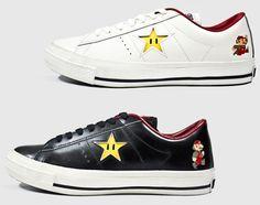 502fd57dfa0bf8 Super Mario Bros Converse One Star!! Converse One Star