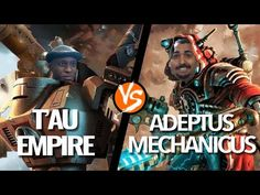 Mech Onslaught: Broadside T'au vs Dunecrawler Adeptus Mechanicus (Part Tau Empire, Game Workshop, 1st Night, Warhammer 40k, Thankful, Movie Posters, Film Poster, Warhammer 40000, Billboard