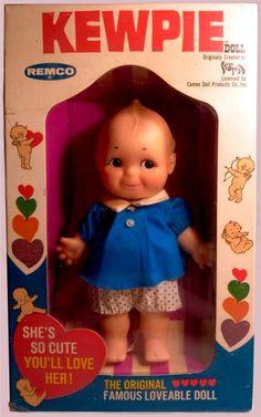 VINTAGE TOY ARCHIVE- REMCO: 1969 KEWPIE Doll