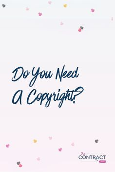 Copyrights protect your valuable work. But, do you know why you need a copyright? I'm sharing when and why you should get a copyright registration Business Goals, Business Planning, Business Tips, Online Business, Small Business Accounting, How To Protect Yourself, Do You Need, Content Marketing, Media Marketing