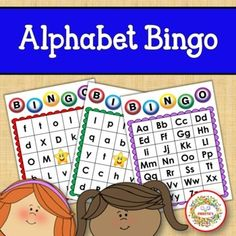 Alphabet Bingo Uppercase and Lowercase Letters by Sweetie's | TpT Bingo Cards, Task Cards, Alphabet Bingo, Uppercase And Lowercase Letters, Learning Letters, Calling Cards, Teaching Reading, My Teacher, Lower Case Letters