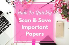 Digital Organization: How I Quickly Scan & Save Important Papers - simply organized Office Cubicle Organization, Bill Organization, Organized Office, Good Marriage, Saving Your Marriage, Marriage Advice, Paper Clutter, Filing System, Getting Organized