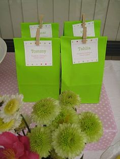 Polka Dot Birthday Supplies, Decor, Clothing: Grace's Pink and Green Polka Dot Party