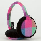 Candy Plaid Earmuffs 205857951 | Earmuffs | Tillys.com