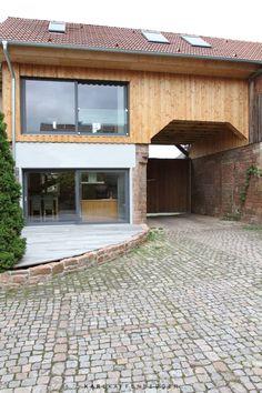 Das historische Torhaus einer alten Mühle im Odenwald sollte von Grund auf saniert werden.