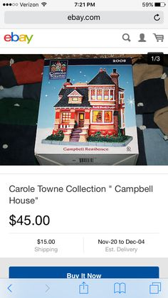 Christmas village lighted in collectibles holiday seasonal christmas