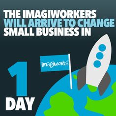 The ImagiWorkers will arrive to change small business in 1 day.. #smallbusiness #marketing #appdevelopment #graphicdesign #socialmedia #melbourne #marketingconsultants #marketingmelbourne #smallbusinessmarketing #logodesign #websitedesign #html5 #creativity #imagination #design #tomorrow #startup