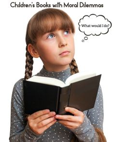 Children's Books with Moral Dilemmas - these are great for discussion & teaching kids values! #spon