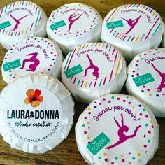 Souvenirs para Lara / Jaboncitos personalizados / Fiestas infantiles / Cumpleaños / Niñas / Gimnasia artística / Little soap Giveaways / Kids birthday party / Gym / Girls / By LAURA&DONNA / Contact us: lauraydonna@gmail.com