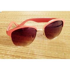 Rare Vintage Coral Sunglasses Turn heads w/ these rare vintage sunglasses in coral featuring gold trim.  Sunglasses have a couple of small scratches, plus one the ear, (please see pic) but unnoticeable when wearing. In excellent condition otherwise.  Comes w/ sunglass case as shown.  Available as a FREE gift w/ qualifying purchase - case not included. Shine bright.    No Trading   Bundling Available  Fast Shipping    Holds for over $50 for 24 hrs only  Top 10% Sharer & Seller   Posh Mentor…