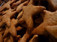 Piparkukas (Latvian Christmas cookies) - I always roll out mine thinner, as crispier is definitely better in this case.