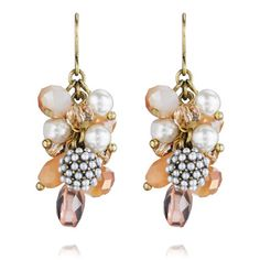 Heirloom Pavé Cluster Earrings $34  Lifetime Guarantee http://www.chloeandisabel.com/boutique/jewelaccess/dbd957