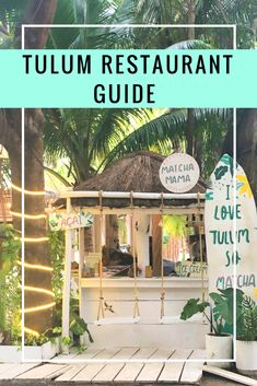 Tulum has amazing restaurants. Check out this guide on where to eat the best food in Tulum. A complete guide to restaurants in Tulum, Mexico.