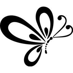 #Mariposa. #Pegatina en #vinilo recortado para coche