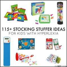 115 stocking stuffer ideas for kids with hyperlexia