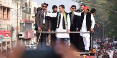 Chief Minister of UP and Rahul Gandhi team up to fight UP Election 2017 together.