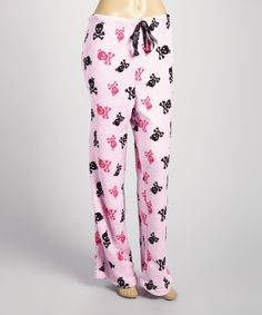 69f2e15f7343cd Dream sweet in these plush pajama pants. The leisurely fit and supple  fabric ensure a peaceful night s rest is only a blink away.