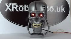 DIY Terminator Skull Made With Dollar Store Parts [Video]