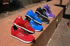 "New Balance 574 ""Monochrome Nubuck"""