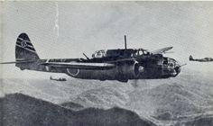 "Kawasaki Ki-48 Army Type 99 Twin-Engined Light Bomber ""Lily"""