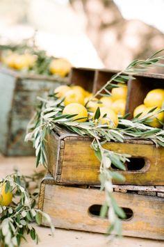 77 Natural Olive Branch | Spanish Wedding Ideas | HappyWedd.com