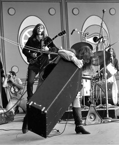 Big Brother and the Holding Company on the main stage Saturday at the 1967 Monterey Jazz Festival. Photo Monterey County Herald, sept.16 1967 - photo by Fred Arellano