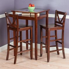 You'll love the Belmont 3 Piece Pub Table Set at Wayfair - Great Deals on all Furniture  products with Free Shipping on most stuff, even the big stuff.