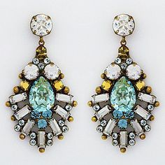 Bohemian Chic Statement Earrings. Sorrelli Afterglow collection.