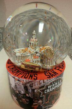 World Series Champions 2012, San Francisco Giants snow globe | photo Maria Steffy